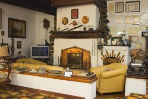 La sala da paranzo de Il Giardino Fiorito