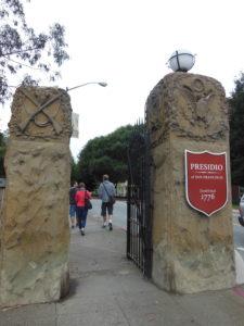 Ingresso Presidio @San Francisco