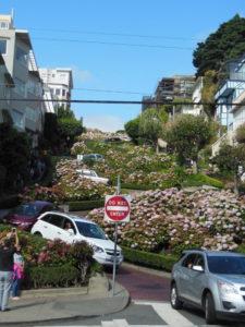 Lombard Sreet @ San Francisco