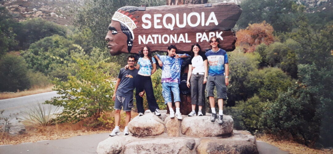 Sequoia National Park sign