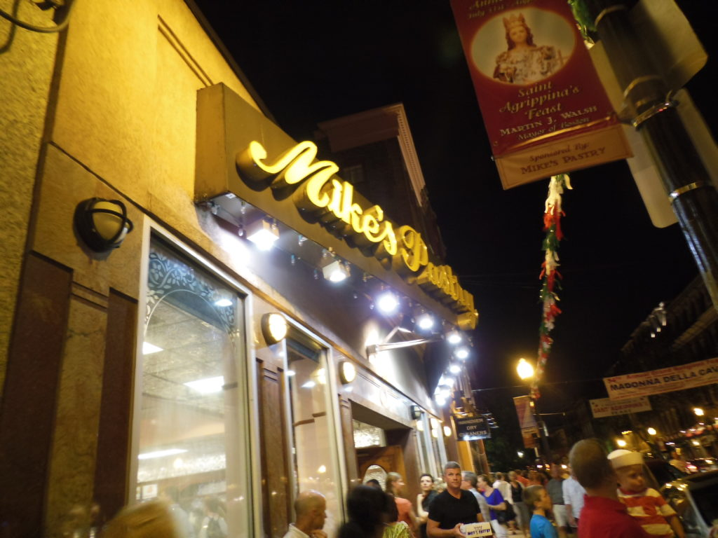 Mike's Pastry @ Boston