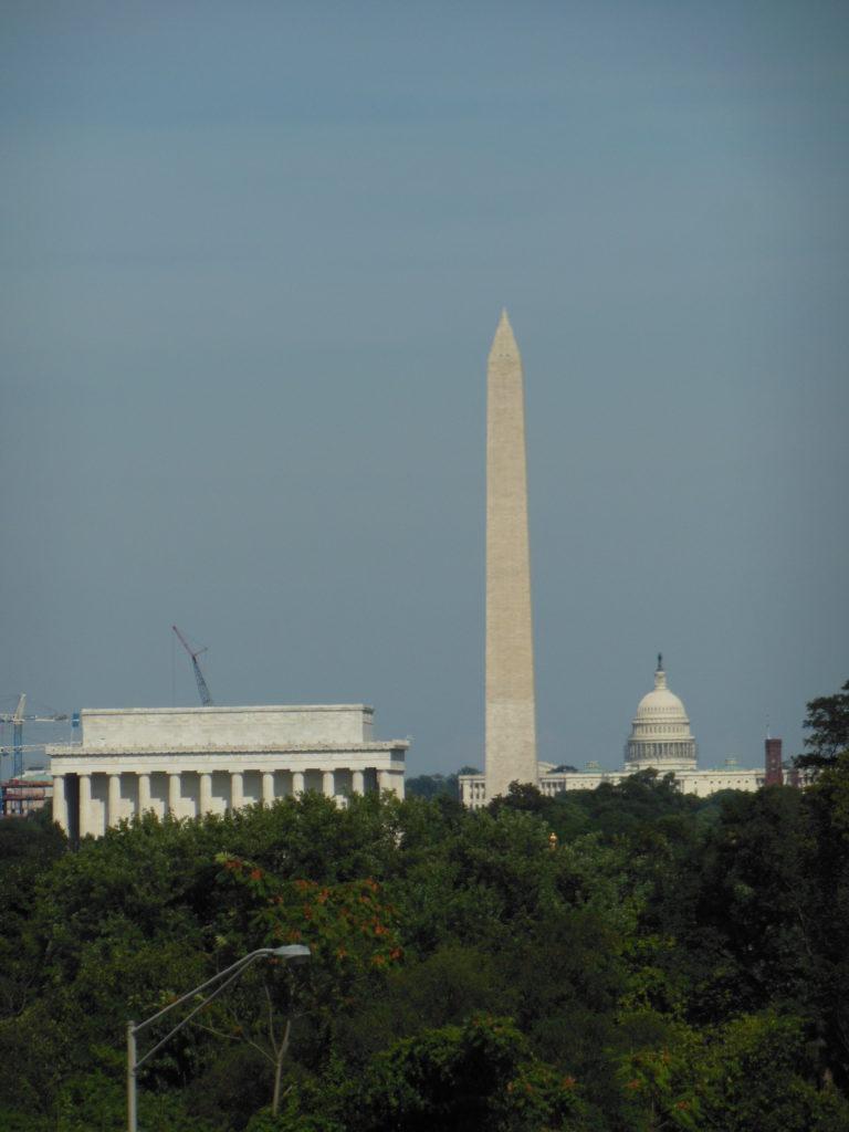 Il National Mall da Arlington