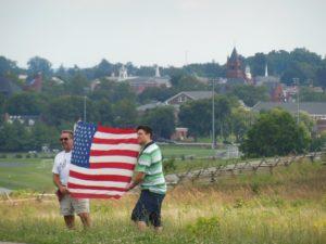Due americani a Gettysburg