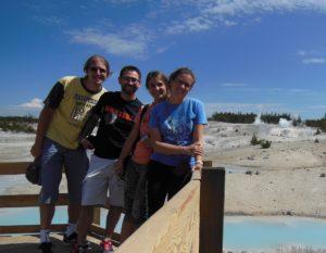 Cool at Yellowstone