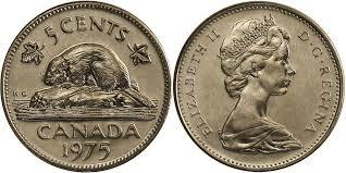 5 centesimi canadesi