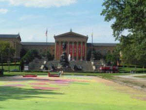 Il Museum of Art di Philadelphia e la famosa scalinata di Rocky