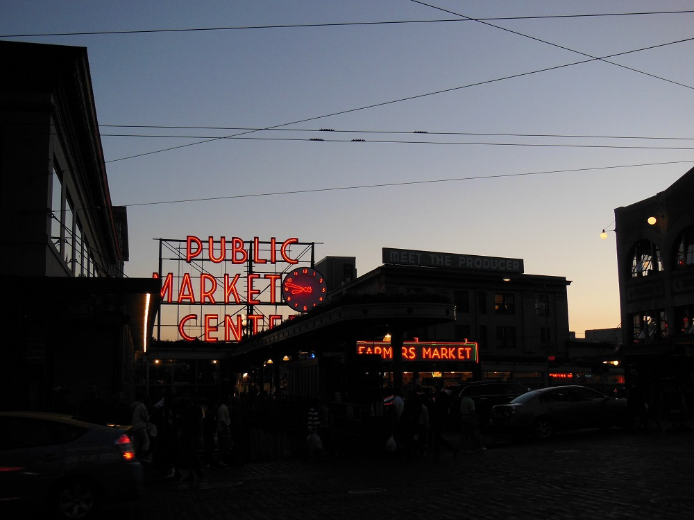 pike place market at seattle